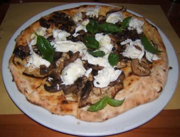 Una delle pizze di Bir&Fud